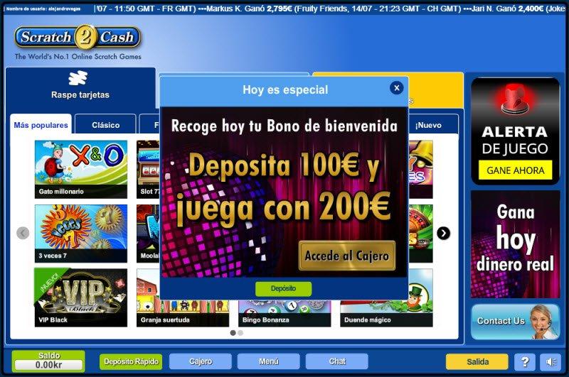 Scratch2Cash com jugar 888 casino-236920