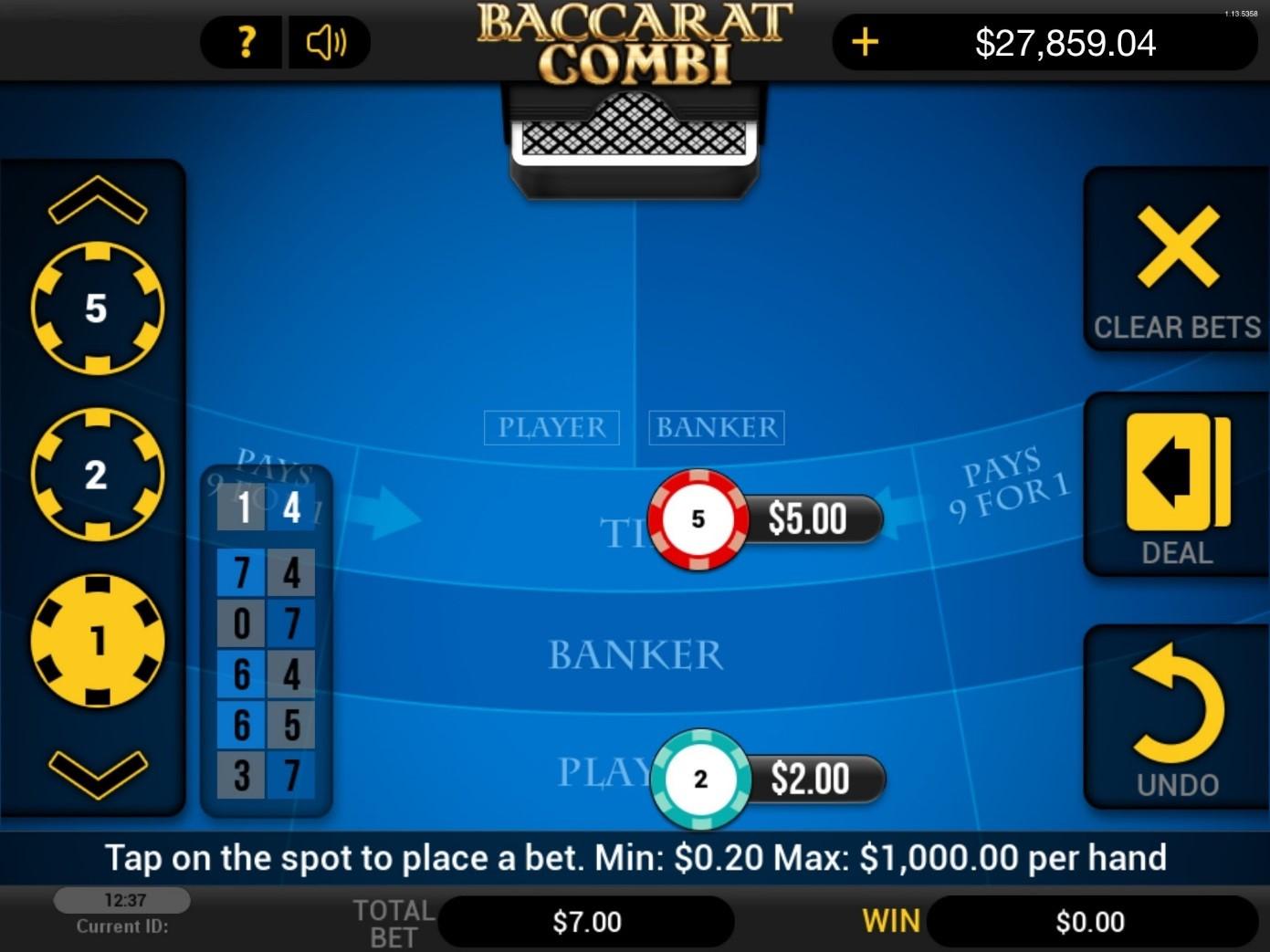Slots de mesa tabla poker general-38079