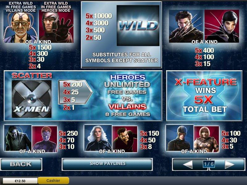 Tragaperra X Men juegos tragamonedas-868146