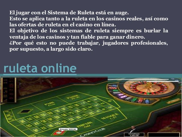 Trucos ruleta casino MGA-136697