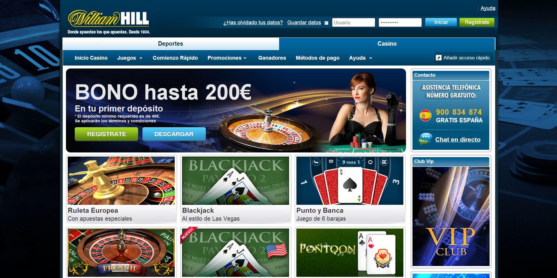William hill 10 gratis juegos de casino Temuco-346275
